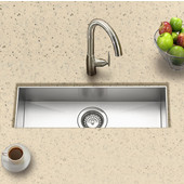 - Undermount Sink, 23''W x 8 1/2''D x 6''H