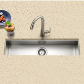 - Undermount Sink, 32''W x 8 1/2''D x 6''H
