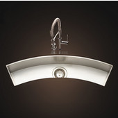 - Undermount Sink, 33''W x 8 1/2''D x 6''H