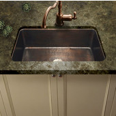 Hammerwerks Chalet Chef Kitchen Sink in Antique Copper