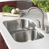 Medallion Designer Series 70/30 Undermount Double Bowl Sink