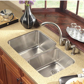 Medallion Gourmet Series 60/40 Double Bowl Sink