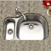Medallion Designer Series Undermount Double Bowl Sink