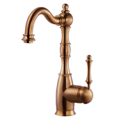 Regal Traditional Kitchen Faucet in Antique Copper, Faucet Height: 12-5/16'' H, Spout Reach: 7'' D, Spout Height: 8-5/8'' H