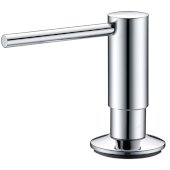Endura Tal 360° Swivel Soap Dispenser in Polished Chrome, Dispenser Height: 3-3/8'' H, Spout Reach: 3-9/16'' D, Spout Height: 2-5/16'' H