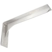 Sutherland Bench Brackets, Stainless Steel, 3'' W x 16''D x 8''H