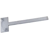10'' Steel Stud-Mounted Shelf Bracket, 12'' W x 2'' D x 1/4'' H