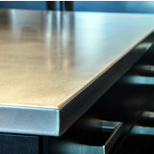 Federal Brace Stainless Steel Countertop