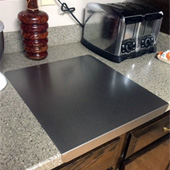 24''W Stainless Steel Cutting Board