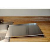 Stainless Steel Drain Board, 18''W x 18''D