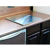 18''W Stainless Steel Baker's Food-Prep Board