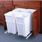 Knape & Vogt Trash Cans, Waste Bins