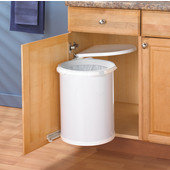 8 Gallon Pivot-Out Waste Bin, Min. Cabinet Opening: 16-7/16'' Wide