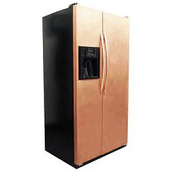 Copper Refrigerator Frame & Panel Set - Appliance Panels