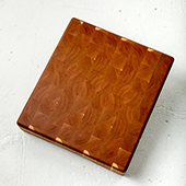 Hakkeblokk End Grain Cutting Board, 22'' W x 15'' D x 3'' H, Cherry
