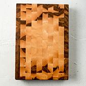 Hakkeblokk End Grain Cutting Board, 22'' W x 15'' D x 3'' H, Maple