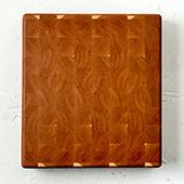 Minnehaha End Grain Cutting Board, 16'' W x 14'' D x 1.5'' H, Cherry