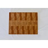 Maple End Grain Butcher Block, 20'' W x 15'' D x 3'' Thick