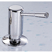 Contemporary Series Soap/Lotion Dispenser, NuBrass