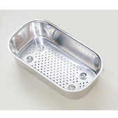 Artisan Polished Stainless Steel Colander for Artisan series sinks
