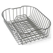 Compact Coated Stainless Steel Drain Basket