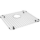 Cube Stainless Steel Bottom Grid for Left Side of Double Bowl CUX160 Sink
