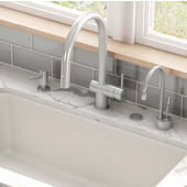 Active Neo Pull Down Spray Kitchen Faucet, Satin Nickel