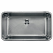 Grande Series Single Bowl, 18 Gauge, Stainless Steel, 32-3/4''W x 18-3/4'' D