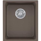 Kubus Single Bowl Undermount Kitchen Sink, Granite, Fragranite Storm, 15''W x 17-3/8''D x 7-7/8''H