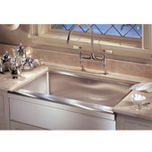 Manor House Stainless Steel Apron Front Single Bowl Sink