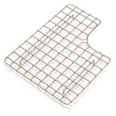 Fireclay Coated Stainless Steel Bottom Grid, Left Hand