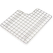 Fireclay Coated Stainless Steel Bottom Grid, Right Hand