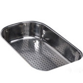 Oceania Polished Stainless Steel Colander