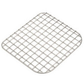 Fireclay Coated Stainless Shelf Grid, Right Hand