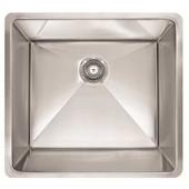 #FK-PEX110-21 Undermount Kitchen Sink in Stainless Steel, 21''W x 17''D x 9-1/2''H