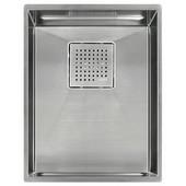 Peak 13'' Single Bowl Undermount Sink,16 Gauge, Stainless Steel, 14-9/16''W x 17-3/4'' D