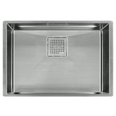 Peak 28'' Single Bowl Undermount Sink,16 Gauge, Stainless Steel, 28-3/4''W x 17-3/4'' D