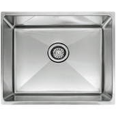 Professional Series Single Bowl Undermount Sink,16 Gauge, Stainless Steel, 25-1/2''W x 17-5/8'' D