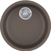 Rotondo Round Single Bowl Undermount Kitchen Sink, Granite, Fragranite Storm, 17-7/8'' Dia. x 7-11/16''H