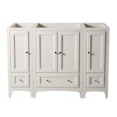 Oxford 48'' Antique White Traditional Vanity Base Cabinets, 47-5/8'' W x 20'' D x 34'' H