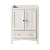 Oxford 24'' Antique White Traditional Vanity Base Cabinet, 23-5/8'' W x 20'' D x 34'' H