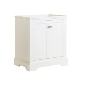 Windsor 30'' Matte White Traditional Bathroom Cabinet, 29-7/8'' W x 20-5/16'' D x 33-1/2'' H
