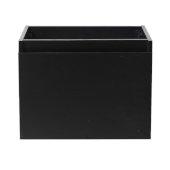Nano 24'' Black Modern Vanity Base Cabinet, 23-3/8'' W x 18-3/4'' D x 17-3/4'' H
