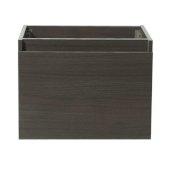 Nano 24'' Gray Oak Modern Vanity Base Cabinet, 23-3/8'' W x 18-3/4'' D x 17-3/4'' H