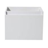 Nano 24'' White Modern Vanity Base Cabinet, 23-3/8'' W x 18-3/4'' D x 17-3/4'' H