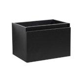 Mezzo 30'' Black Wall Hung Modern Bathroom Vanity Base Cabinet, 29-5/16'' W x 18-3/4'' D x 17-5/8'' H
