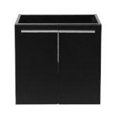 Alto 23'' Black Modern Vanity Base Cabinet, 22-1/2'' W x 18-1/4'' D x 21'' H