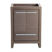 Allier 24'' Gray Oak Modern Vanity Base Cabinet, 23-1/2'' W x 18'' D x 32-7/8'' H