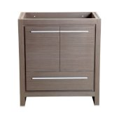 Allier 30'' Gray Oak Modern Vanity Base Cabinet, 29-1/2'' W x 18'' D x 32-7/8'' H