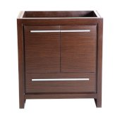 Allier 30'' Wenge Brown Modern Vanity Base Cabinet, 29-1/2'' W x 18'' D x 32-7/8'' H